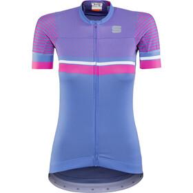 Sportful Diva 2 Koszulka kolarska, krótki rękaw Kobiety niebieski